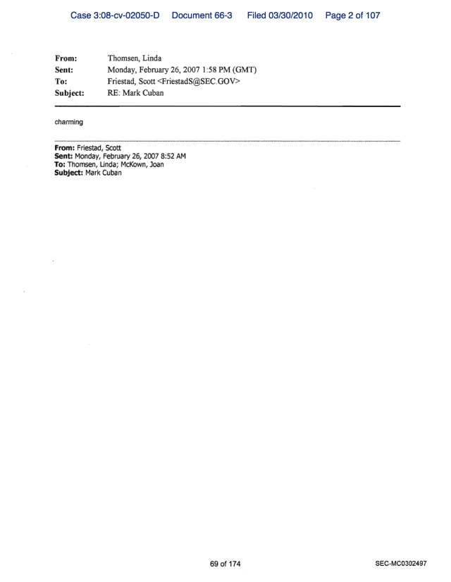 SEC Internal Email of MC Pictures 5